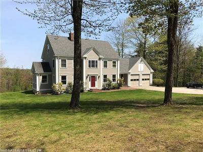 Falmouth Single Family Home For Sale: 163 Mountain Rd
