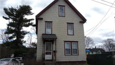 Multi Family Home For Sale: 13 School Street