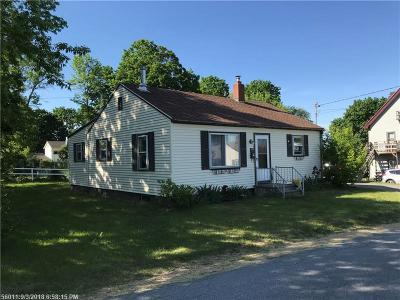 Old Town ME Single Family Home For Sale: $117,900