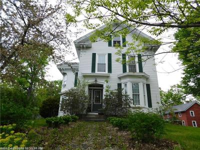 Single Family Home For Sale: 410 Essex St