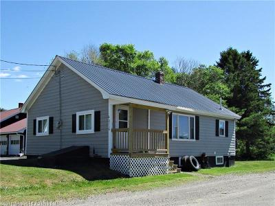 Portage Lake Single Family Home For Sale: 2116 Portage Rd