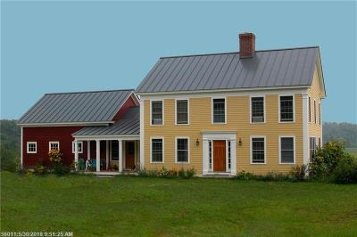 Wells Single Family Home For Sale: L103 Hobbs Farm Rd