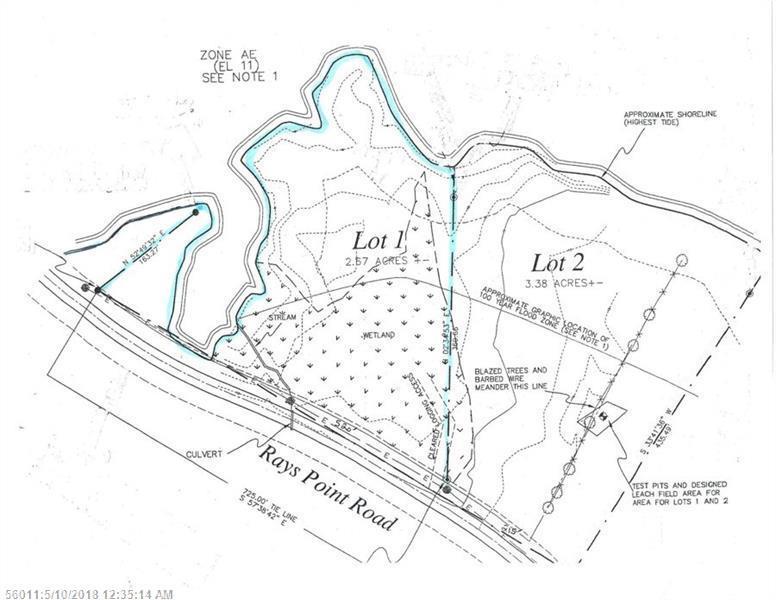 Lot 1 Rays Point Road Milbridge Me Mls 1349477