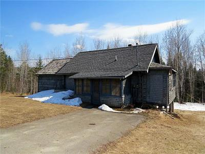 Fort Kent Single Family Home For Sale: 102 Michigan Settlement Rd