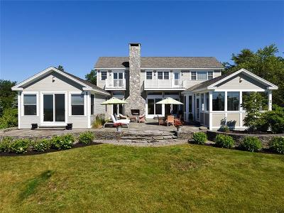 Scarborough ME Single Family Home For Sale: $1,750,000