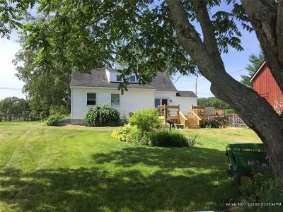 Caribou Single Family Home For Sale: 714 Fort Fairfield Rd
