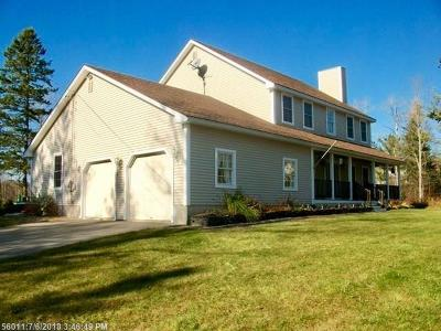 Hampden Single Family Home For Sale: 14 Patterson Rd
