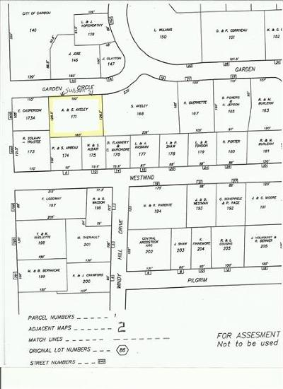 Caribou Residential Lots & Land For Sale: M39L171 Garden Circle