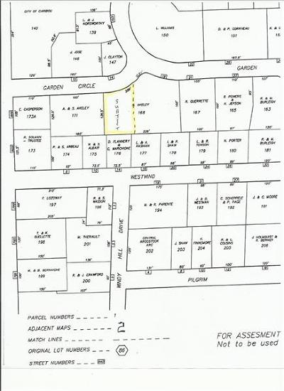 Caribou Residential Lots & Land For Sale: 19A Garden Circle