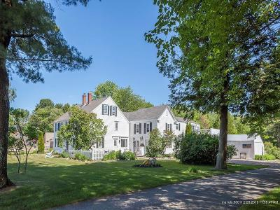 Kennebunkport Single Family Home For Sale: 20 River Rd