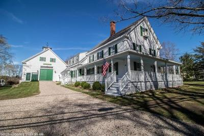 Kennebunkport Single Family Home For Sale: 64 North St