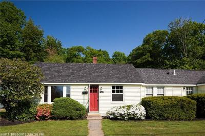 Kittery Single Family Home For Sale: 134 State Rd