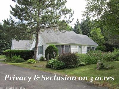 Caribou Single Family Home For Sale: 50 Baird Road