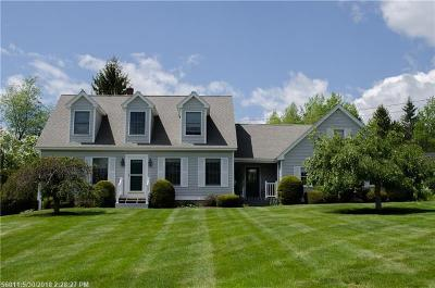 Hampden Single Family Home For Sale: 1 Frances Dr