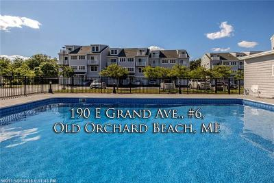 Old Orchard Beach Condo For Sale: 190 E Grand Ave 6 #6