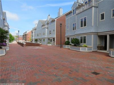York County, Cumberland County Condo For Sale: 106 Chandler's Wharf 106 #106