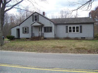 Scarborough Single Family Home For Sale: #124 With #0a Ash Swamp Rd