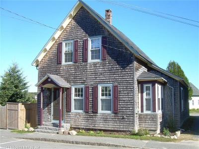 Winter Harbor Single Family Home For Sale: 327 Main Street