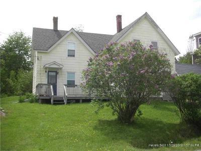 Gouldsboro Single Family Home For Sale: 643 Corea Road