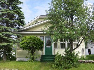 Madawaska Single Family Home For Sale: 96 16th Ave