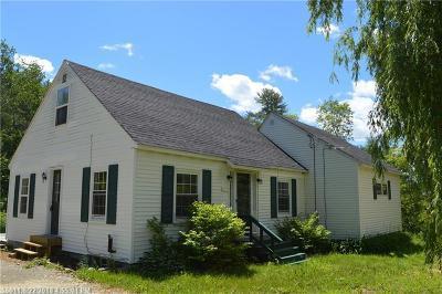 Hampden Single Family Home For Sale: 679 Kennebec Road