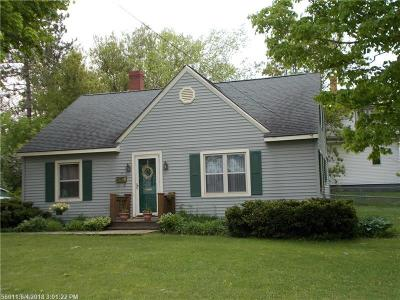 Caribou Single Family Home For Sale: 15 Coolidge Ave