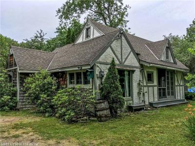 Single Family Home Pending: 234 Back Road