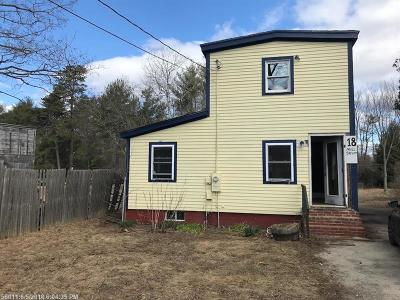Standish Single Family Home For Sale: 18 Mill St