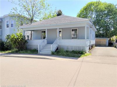 South Portland ME Single Family Home For Sale: $209,000