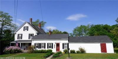 Single Family Home For Sale: 136 Storer Rd