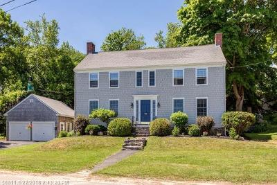 Scarborough, Cape Elizabeth, Falmouth, Yarmouth, Saco, Old Orchard Beach, Kennebunkport, Wells, Arrowsic, Kittery Single Family Home For Sale: 3 Garden Cir