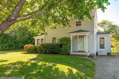 York Single Family Home For Sale: 80 Main St
