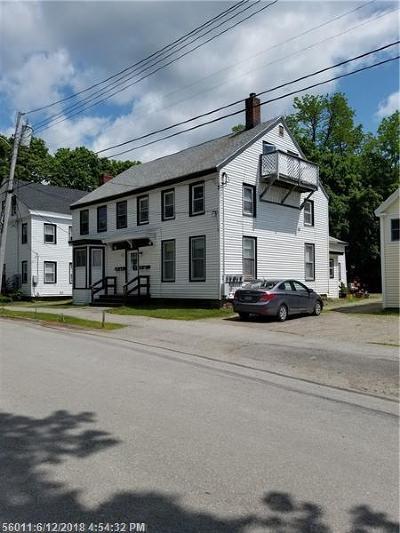 Bangor Multi Family Home For Sale: 203-205 Pine St