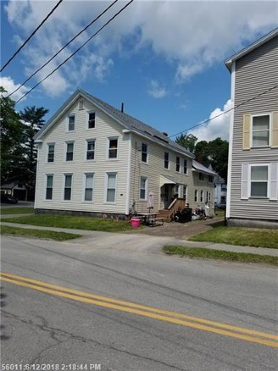Bangor Single Family Home For Sale: 142 Cumberland St