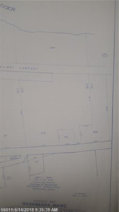 Madawaska Residential Lots & Land For Sale: N B&A RR Main Street