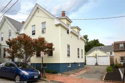 Portland Multi Family Home For Sale: 57 Turner St