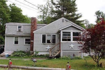 Waterboro Single Family Home For Sale: 602 Ross Corner Rd