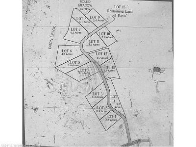 Brewer Residential Lots & Land For Sale: Lot 1 Natures Way
