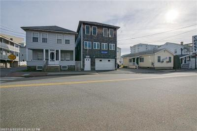 Old Orchard Beach Multi Family Home For Sale: 39 East Grand Ave