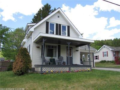 Fort Kent Single Family Home For Sale: 32 Charette Hill Road