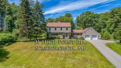Scarborough Single Family Home For Sale: 21 High Point Rd