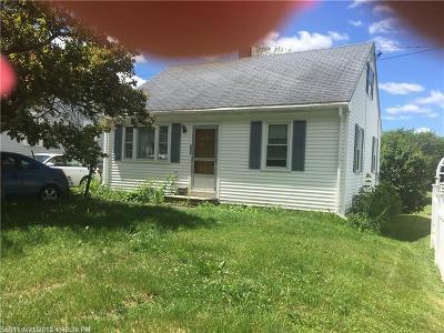 Bangor Single Family Home For Sale: 296 Maple St