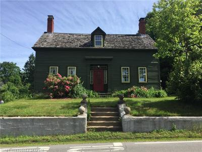 Scarborough, Cape Elizabeth, Falmouth, Yarmouth, Saco, Old Orchard Beach, Kennebunkport, Wells, Arrowsic, Kittery Single Family Home For Sale: 153 Pepperrell Rd
