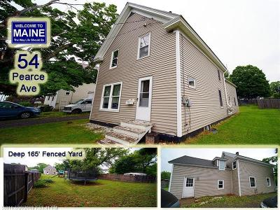 Houlton ME Single Family Home For Sale: $59,500