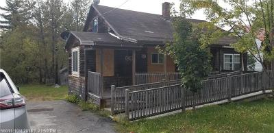 Caribou Single Family Home For Sale: 51 Water Street