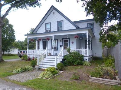 Single Family Home For Sale: 3 Pleasant St