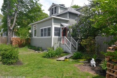Portland Single Family Home For Sale: 7 Luther St