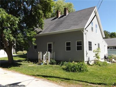 Single Family Home For Sale: 16 Church St