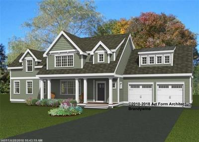 Kennebunk Single Family Home For Sale: Lot 1 Flagship Cir