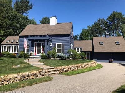 Kennebunk Single Family Home For Sale: 8 Governors Way